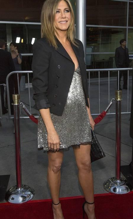 Mais de Jennifer Aniston e sua barriguinha suspeita MARIO ANZUONI / REUTERS