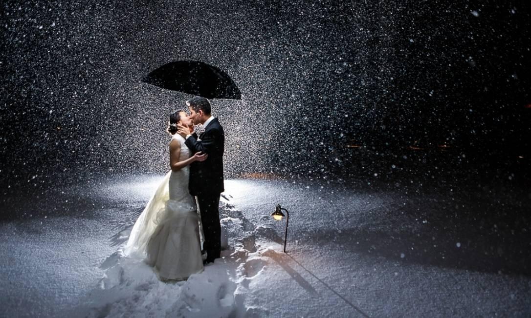 Com neve em Nova Jersey, nos EUA Dennis Pike Photography