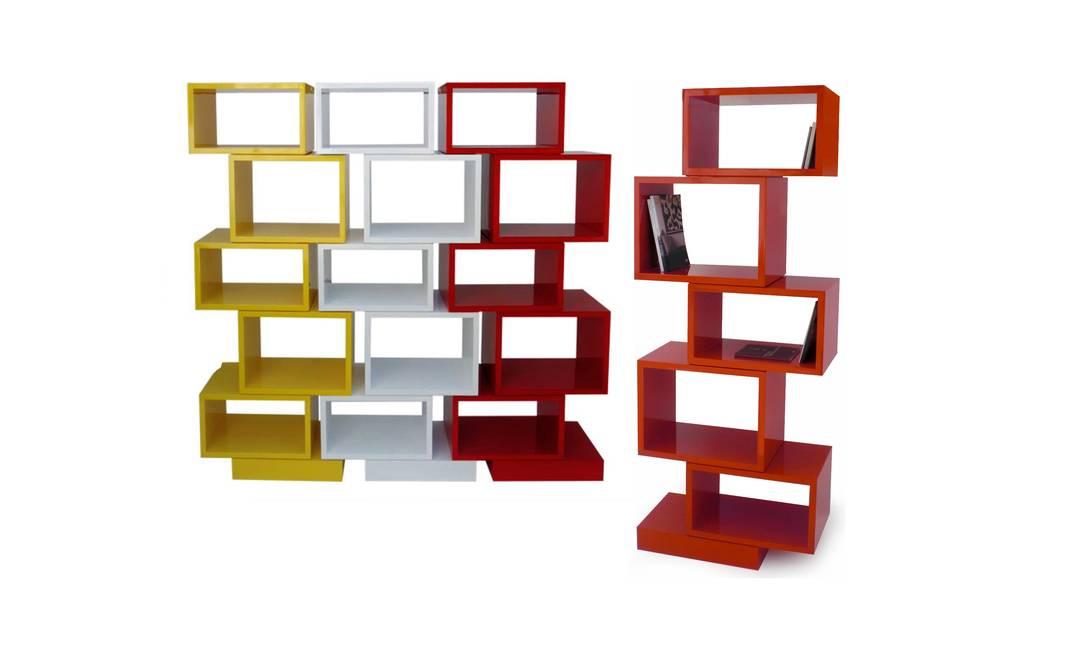 Módulos Equis, R$ 4.405 (cada torre com cinco), Hetty Goldberg (www.hettygoldberg.com.br) divulgação / divulgação