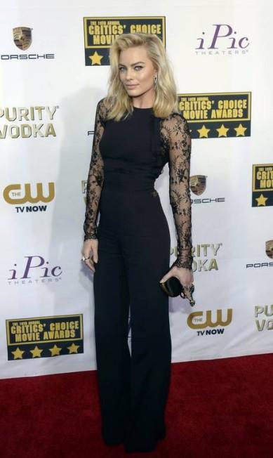 """Margot Robbie, de """"O lobo de Wall Street"""", foi eleita a atriz mais sexy KEVORK DJANSEZIAN / REUTERS"""