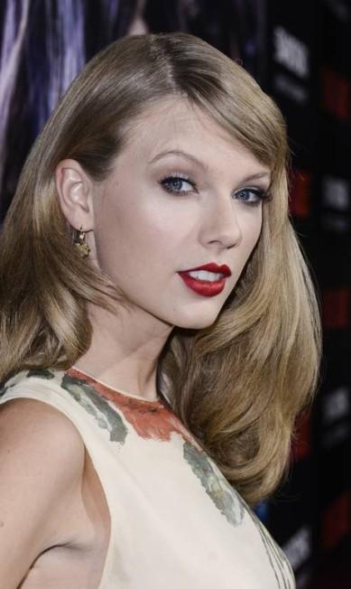 Taylor Swift tem o sorriso mais sexy - se bem que ela não é muito de sorrir Dan Steinberg / Dan Steinberg/Invision/AP