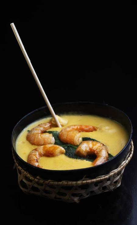 O nhoque de tambaqui com camarão preparado por Elisangela Valle, do Tambaqui de Banda, foi vencedor do Festival Ver-o-Peso da Cozinha Paraense, que aconteceu na cidade vizinha Ana Branco / Agência O Globo