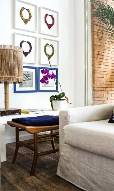 Outro detalhe da decoração na sala de estar Tati / Tati Pontes