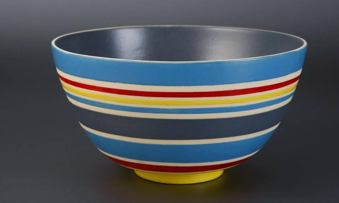 Bowl colorido: processo pode demorar vinte dias Divulgação