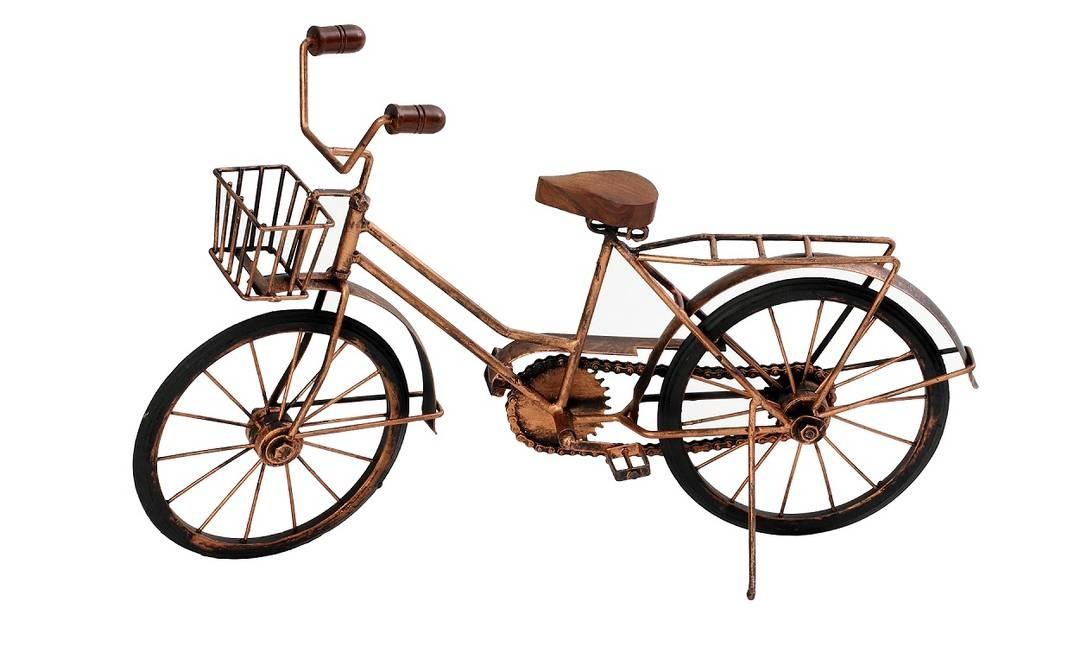 Bicicleta miniatura Balai (balai.com.br), R$ 84 Foto: Reportagem: Suzete Aché / Divulgação