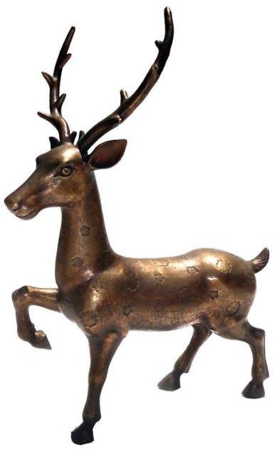 Escultura de gazela, Rug Hold (rughold.com.br), R$ 2.500 divulgação / Divulgação