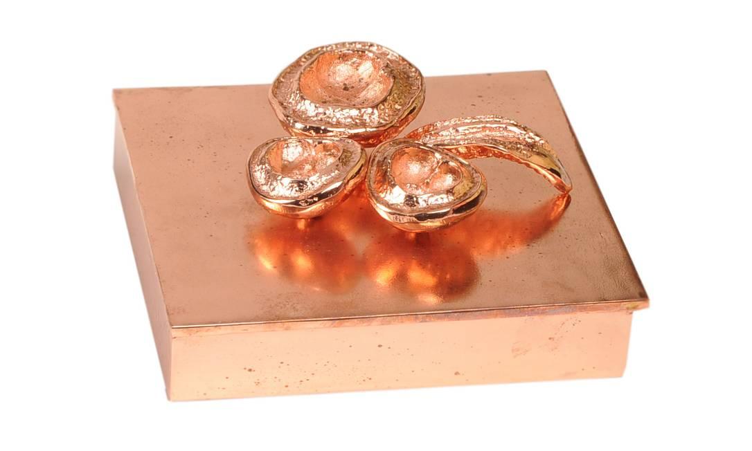 Caixinha de cobre, Le Modiste (lemodiste.com.br), R$ 690 divulgação / Divulgação