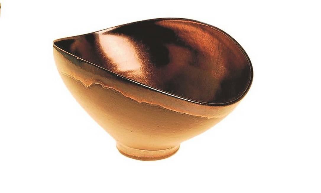 Bowl em cerâmica, Denise Stewart (denisestewart.com.br), R$ 280 Foto: divulgação / Divulgação