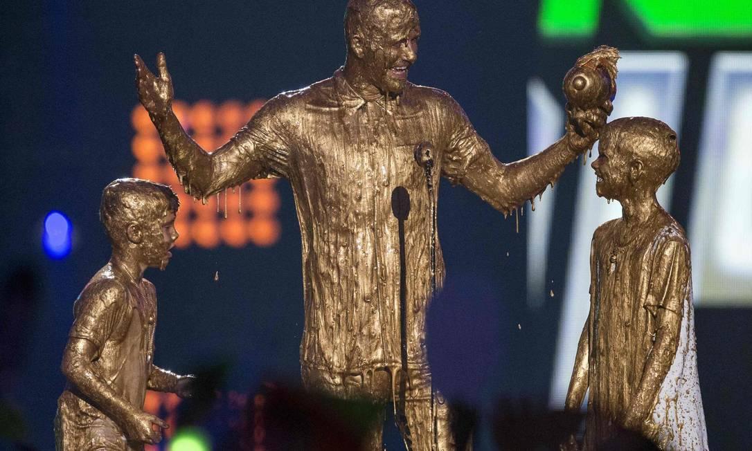 Beckham, a família dourada MARIO ANZUONI / REUTERS