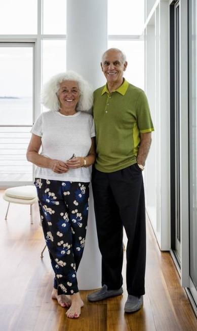 Phil and Lucy Suarez, os donos da casa TREVOR TONDRO / NYT