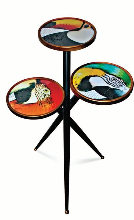 Mesinhas Aves, na Olhar o Brasil (olharobrasil.com.br), R$ 1.680 divulgação / Divulgação