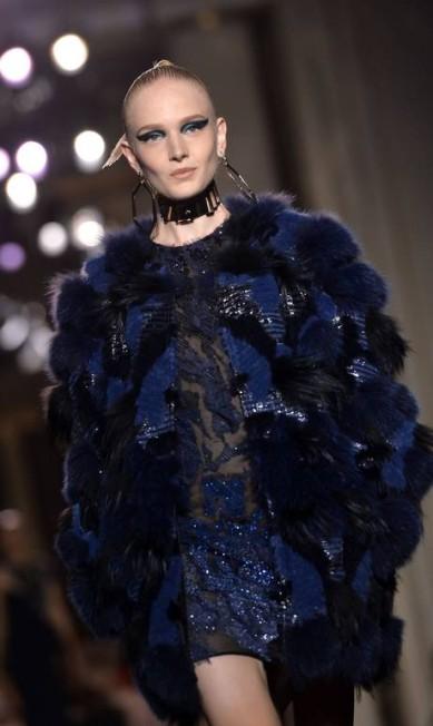 Atelier Versace MIGUEL MEDINA / AFP