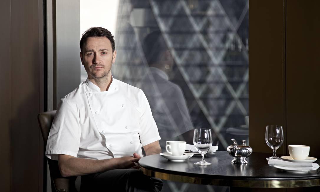 O chef Jason Atherton, no City Social: 190 lugares e bar de champanhe aberto Divulgação