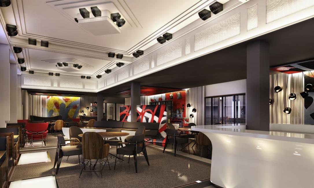 Restaurante do Hotel, que conta com menu criado por Yannick Alléno, três vezes agraciado com a estrela Michelin Divulgação