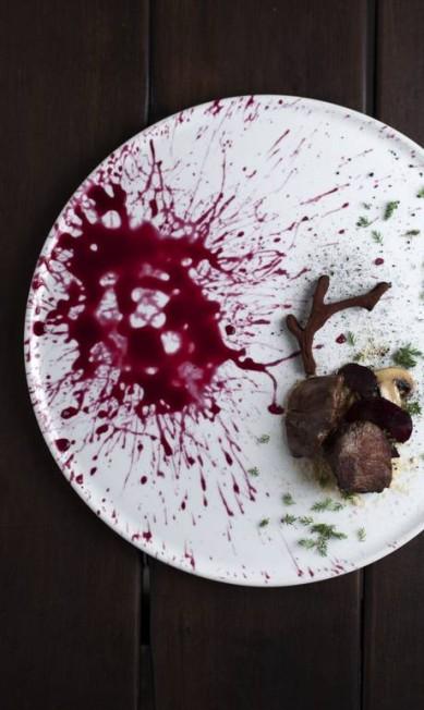 O caza de ciervo do chileno Boragó, eleito o melhor restaurante do Chile pelos membros da World's 50 Best Restaurants Academy Divulgação