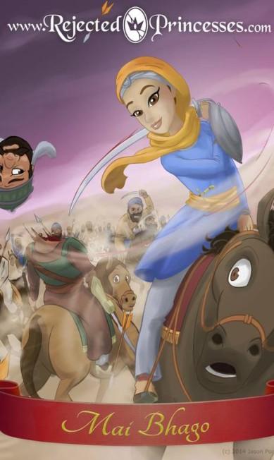 Mai Bhago: guerreira Sikh do século VIII, ela foi a única sobrevivente da Batalha de Khidrana Rejected Princess