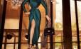 Adriana Lima posa sexy para campanha de Jason Wu