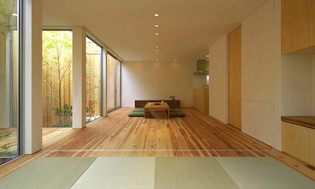 A arquitetura clean também colabora para que os espalos sejam bastante claros Divulgação / Arbol Design