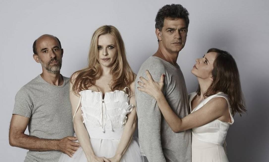 O elenco de 'Um bonde chamado desejo', indicado a três prêmios Foto: Divulgação