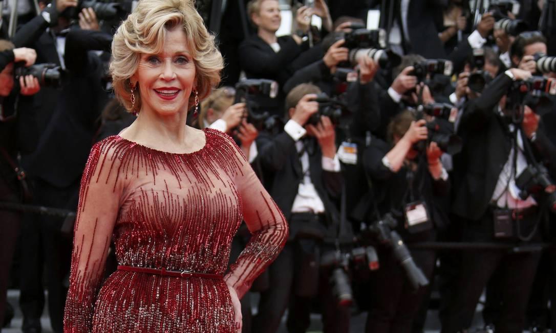 Junto com a propriedade, Jane Fonda vai vender sua coleção pessoal literária, além de obras de arte, antiguidades, tapetes, móveis e equipamentos REGIS DUVIGNAU / REUTERS