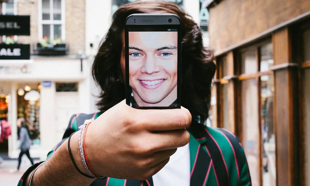Para o público teen, o integrante da banda One Direction Harry Styles ganhou sua versão Divulgação
