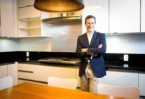 Philipp Mosimann: visitas frequentes ao Rio para criar a Casa da Suíça para as Olimpíadas Foto: Fábio Seixo / fábio seixo
