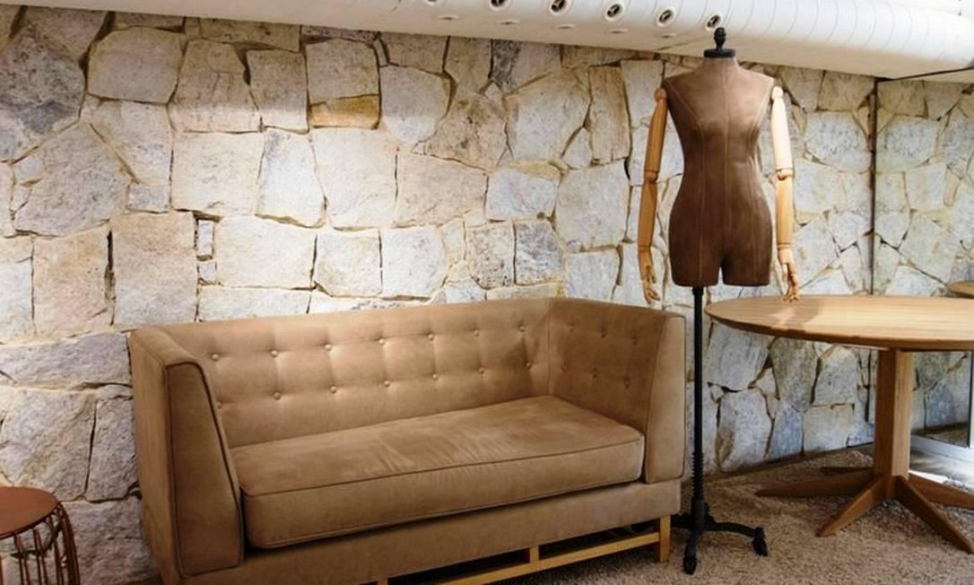 Na loja da Filhas de Gaia, no Fashion Mall, área é destinada a atendimentos super exclusivos Divulgação