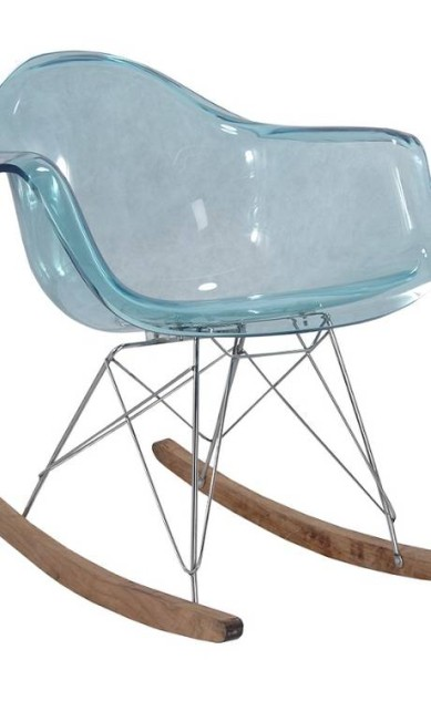 Poltrona de balanço DAR, de Charles Eames, na Hetty Goldberg (hettygoldberg.com.br), R$ 2.374 Divulgação