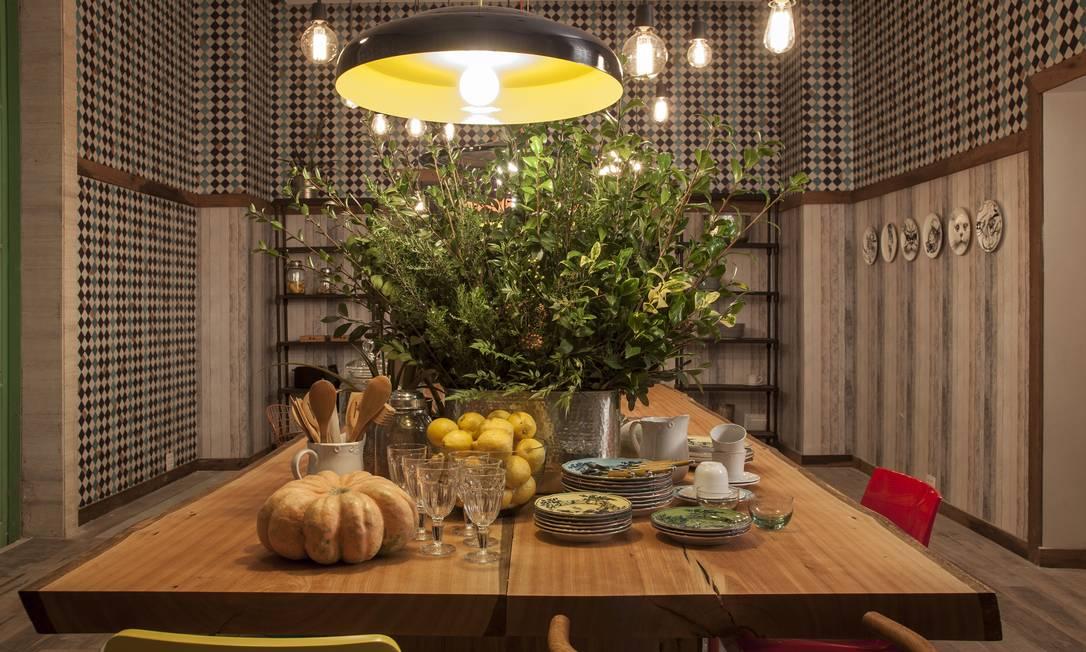 A sala de almoço, de Esther Giobbi divulgação / Divulgação