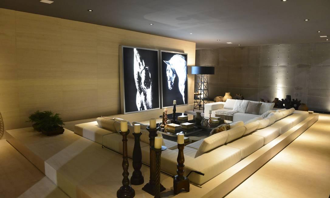 Fornecedores estão empenhados em investir em projetos na mostra. Como exemplo, a Villa Deca, de Guilherme Torres ???? / Divulgação / Rafael Renzo