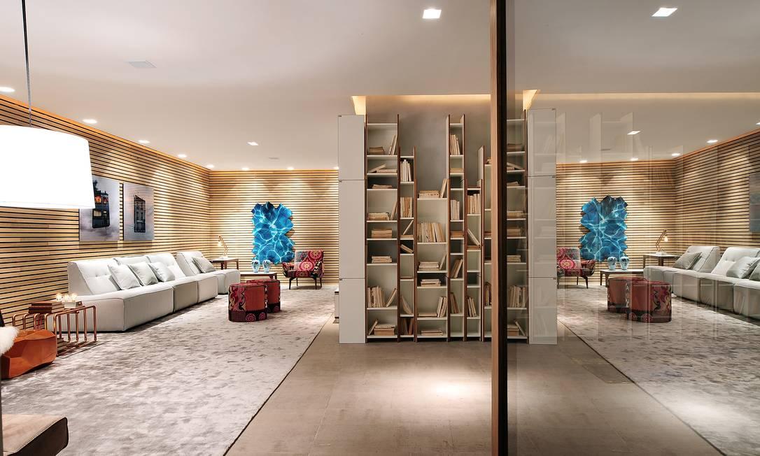 O Lounge Galeria, do arquiteto Leo Shetman, é um dos destaques da Casa Cor São Paulo, que acontece no Jockey Club até o dia 20 de julho SIDNEY DOLL / Divulgação