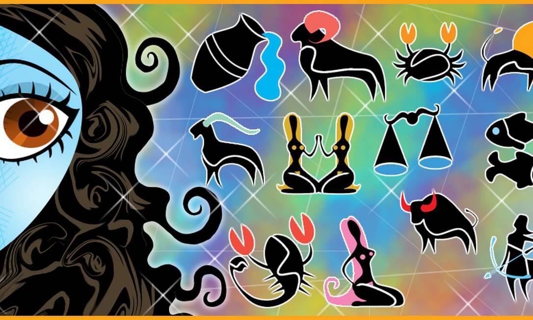 Horóscopo: as previsões para os signos em 2014 Arte Andre Mello