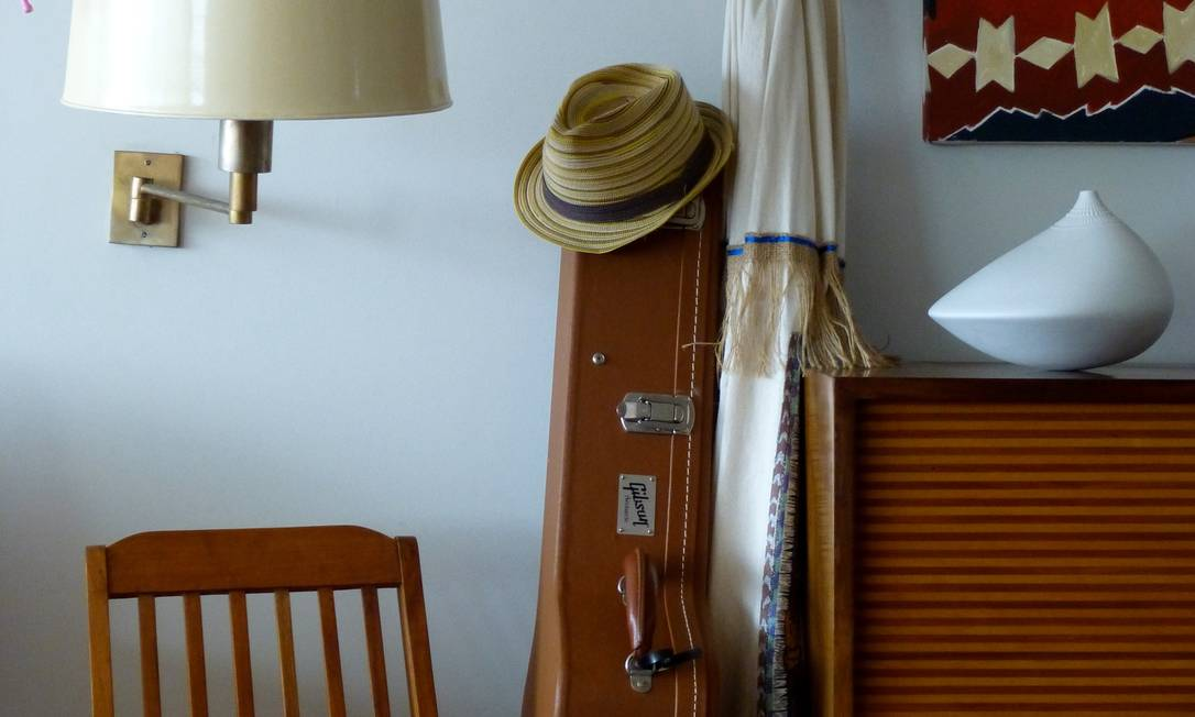 Detalhe de reforma em apartamento no Arpoador Divulgação