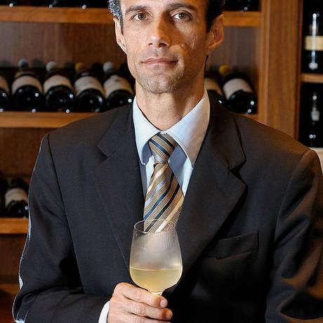 O sommelier Manoel Beato Foto: publico / Divulgação