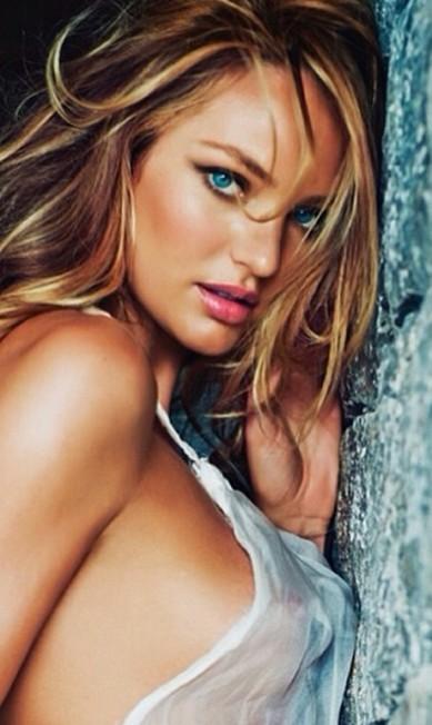 A bela sul-africana que é angel da Victoria´s Secret desbancou Scarlett Johansson Instagram