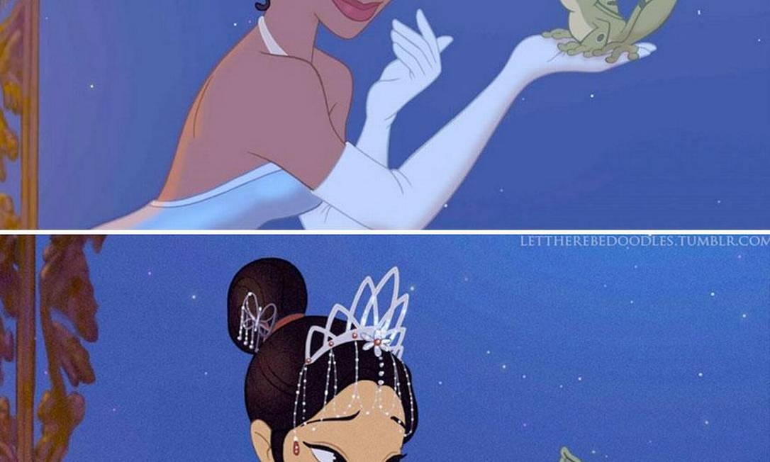 """Tiana, de """"A princesa e o sapo"""", foi a primeira princesa negra da Disney Reprodução"""