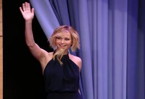 Jennifer Lawrence barbada Foto: NBC / Divulgação