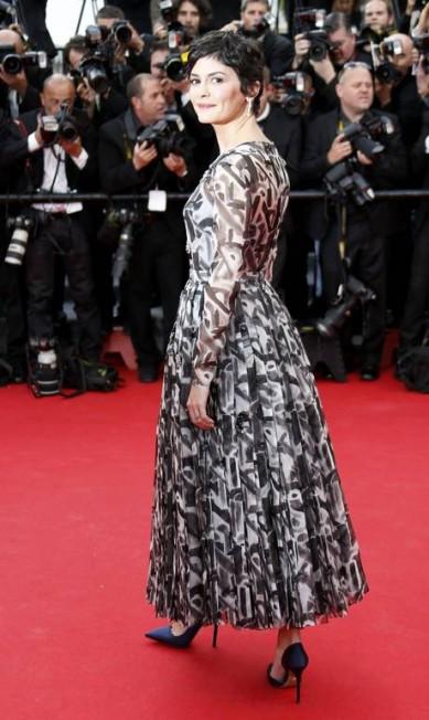 """Desde os primeiros papeis no cinema, a atriz francesa Audrey Tautou já era conhecida pelo talento e simpatia que esbanjava pelos sets de filmagem. O reconhecimento internacional, chegou quando estrelou """"O fabuloso destino de Amélie Poulain"""", em 2001. Em Aos 40 anos, ela têm com dois filmes em fase de pós-produção. Em 2009, Audrey deu vida a estilista Coco Chanel, em 'Coco Antes de Chanel' REGIS DUVIGNAU / REGIS DUVIGNAU/REUTERS"""