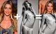"""Não tem jeito. Mulher sempre acha que pode ter um corpo melhor. E com as modelos não é diferente. Perguntamos a elas quais são os corpos que gostariam ter... Ana Beatriz Barros, por exemplo, queria o corpo de ninguém mais ninguém menos que... """"Gisele Bündchen claro"""", falou a top"""