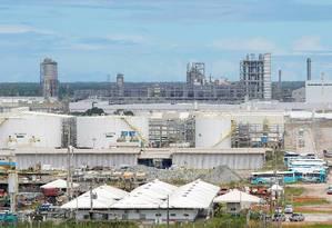 Contratos de Abreu e Lima são alvo da PF Foto: Hans Von Manteuffel / Agência O Globo