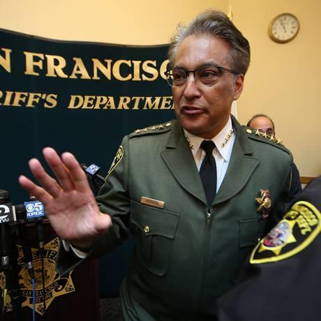 Ross Mirkarimi, xerife de São Francisco, é questionado por cooperação policial para com imigrantes Foto: JIM WILSON / NYT