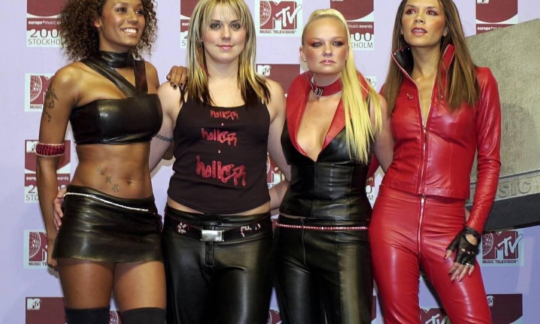 """O mundo conheceu Victoria em 1996, quando as Spice Girls estouraram nas paradas musicais com o hit """"Wannabe"""" Reuters"""