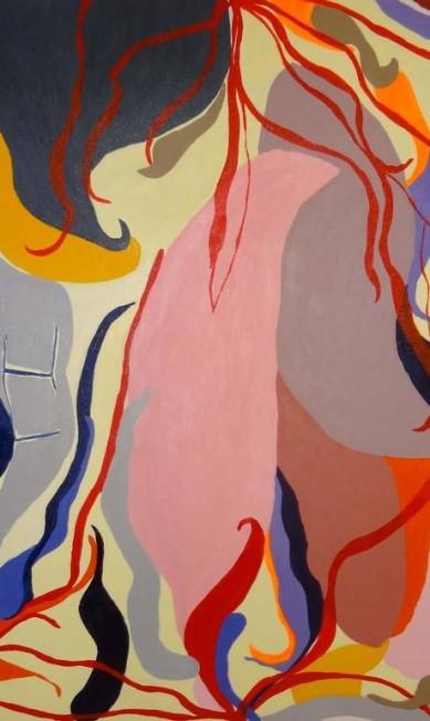 Obras da mostra CompulsArt, da estilista Kátia Wille Divulgação/Kátia Wille