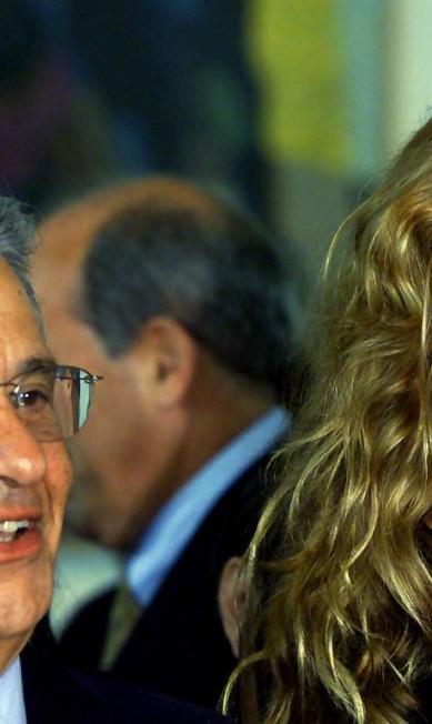 Em 2000, Gisele Bündchen com os cabelos bem ondulados AP