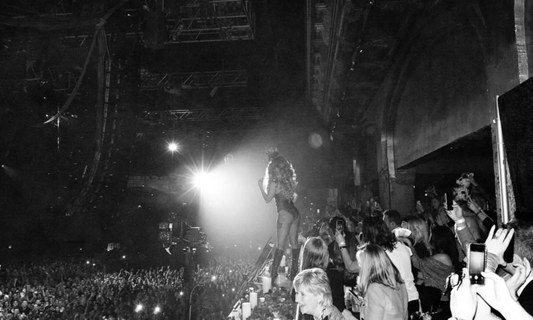 Gaga no palco Terry Richardson / Terry Richardson