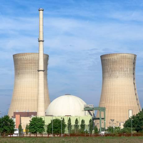 A usina nuclear de Grafenrheinfeld Foto: Reprodução