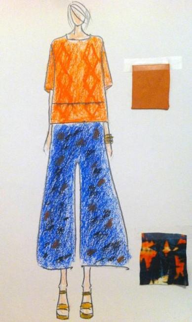 O Cantão buscou o primitivo, o natural, os quatro elementos, em formas simples e confortáveis, tendo a túnica como ponto de partida. Os bordados artesanais, as texturas rústicas e as estampas traduzem a proposta da marca para o verão 2015 Divulgação
