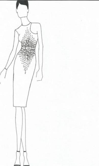 Uma prévia do que o estilista Wagner Kallieno vai apresentar na semana de moda Divulgação
