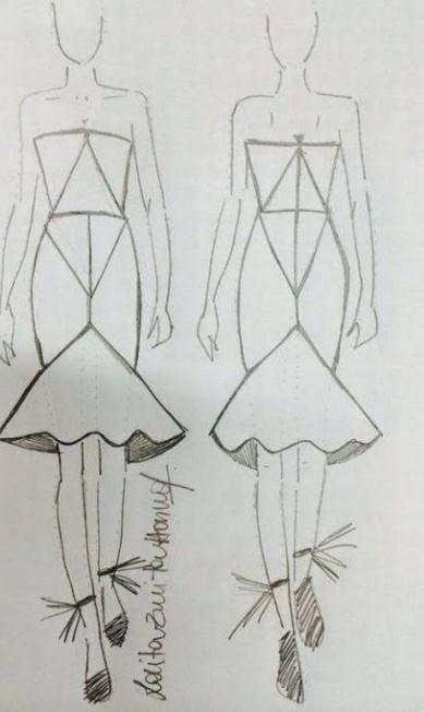 Também estreante, a grife Lolitta vai apresentar formas bem geométricas Divulgação