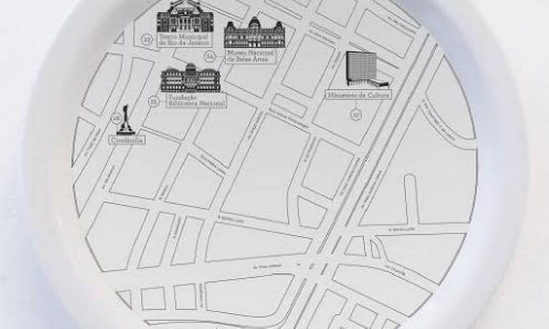 Maurício também mapeou casarões históricos do Rio para a +5521 Divulgação